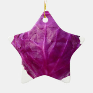Red Cabbage Christmas Ornament