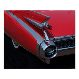 Red Caddy Poster