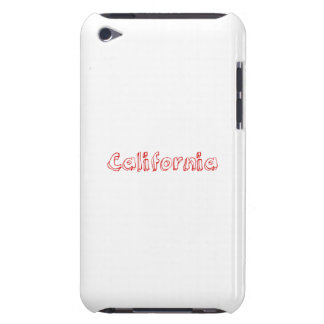 Red California iPod Touch Case-Mate Case