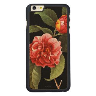 Red Camellia, 1833 Carved Maple iPhone 6 Plus Case
