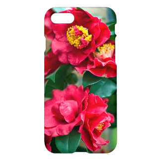 Red Camellia iPhone 7 Case