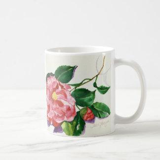 Red Camellia Mug