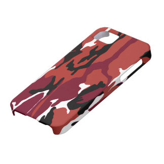 Red Camo Case For The iPhone 5