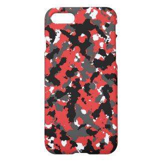 Red camo iPhone 8/7 case