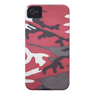 Red Camouflage Case-Mate iPhone 4 Cases