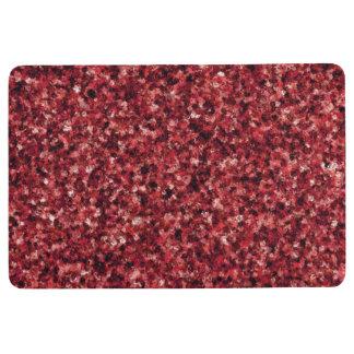 Red Camouflage Floor Mat