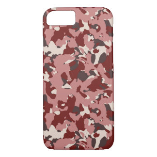 Red Camouflage Phone Case