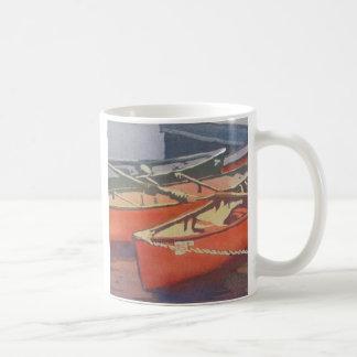 red canoes mug
