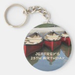 Red Canoes Personalised Keychain (Key Chain)