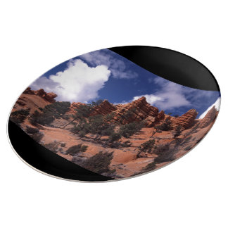 Red Canyon Porcelain Plate