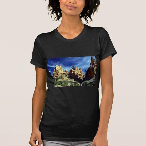 Red Canyon spires, Utah rock formation Tee Shirt