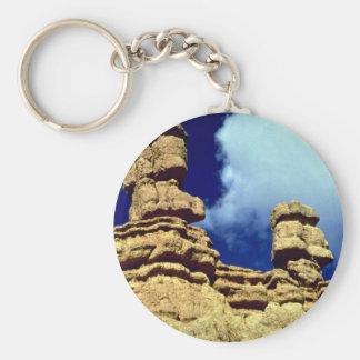 Red Canyon, Utah rock formation Key Ring