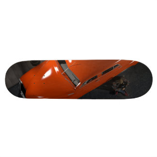 Red car and lamppost 20.6 cm skateboard deck