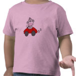 Red Car Sock Monkey Tshirts and Gifts