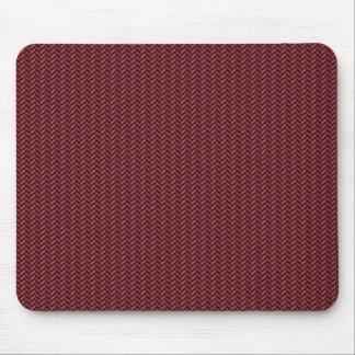 Red carbon fiber mouse mat