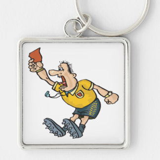 Red Card Key Ring