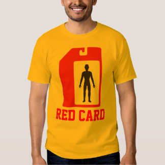 Red Card Toy Collector Series III: Red#1 Tshirt