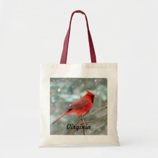 Red Cardinal Bird Bag 4c2fd5933d223