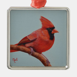 Red Cardinal Bird Christmas Ornament