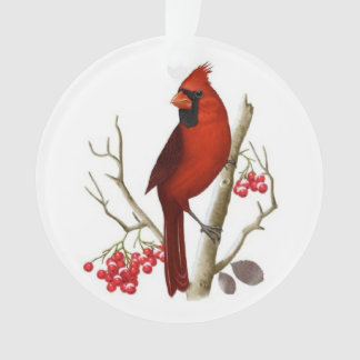 Red Cardinal Christmas Ornament