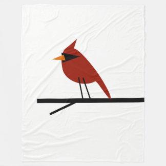 Red Cardinal Fleece Blanket