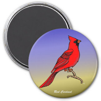 Red Cardinal rev 2 0 Magnets and Flair