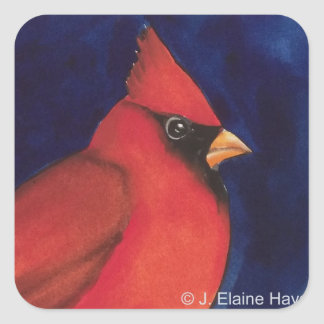 Red Cardinal Sticker