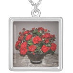 Red Carnation Necklace