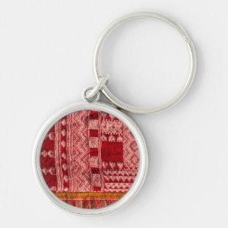 Red Carpet At Market Key Ring
