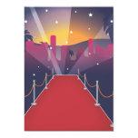 Red Carpet Celebrity 13 Cm X 18 Cm Invitation Card