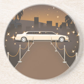 Red Carpet Celebrity Limo Classic Coasters