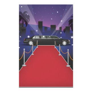 Red Carpet Celebrity Limo Customised Stationery