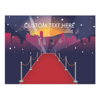 Red Carpet Celebrity Post Card