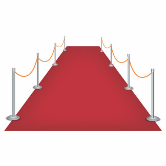 Red Carpet Celebrity Standing Photo Sculpture