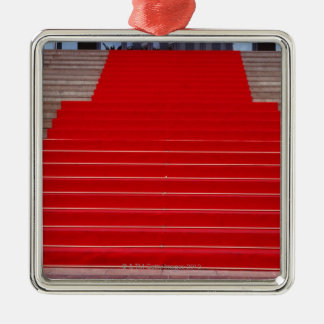 red carpet christmas ornament