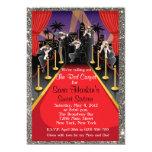 Red Carpet Hollywood Glitter Sweet 16 Invite