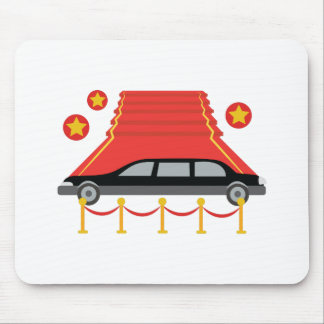 Red Carpet Limo Mouse Pad