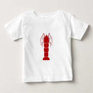 Red Cartoon Shrimp/Prawn Tee Shirts