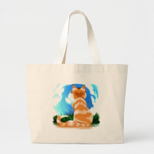 Red Cat Canvas Bags