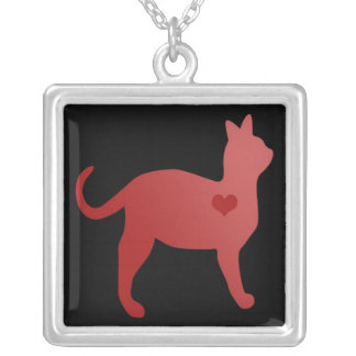 Red Cat Necklace