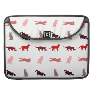 Red Cat pattern Sleeve For MacBooks