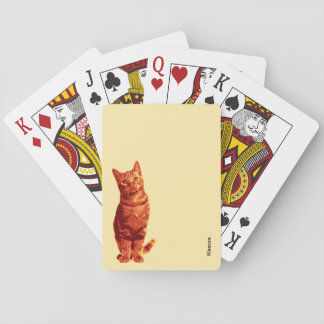 Red Cat. Playing Cards