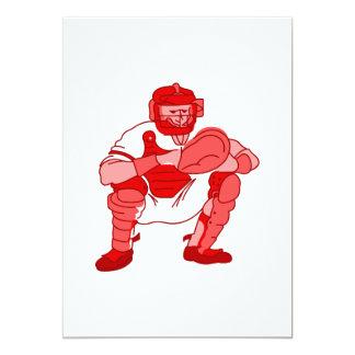 Red Catcher 13 Cm X 18 Cm Invitation Card