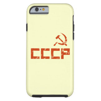 Red CCCP Hammer and Sickle Tough iPhone 6 Case