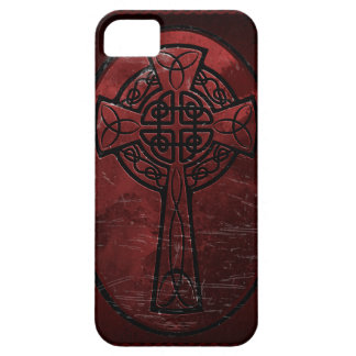Red Celtic Cross iPhone 5 Cover