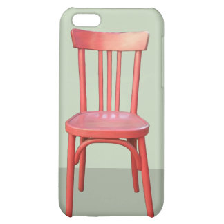 Red Chair green iPhone 4 Case