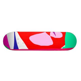 Red Chaos Creation God Power Elements Skate Board Decks