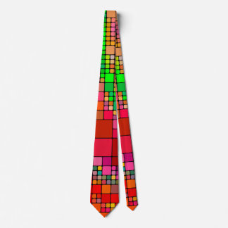 Red checked Fun Tie