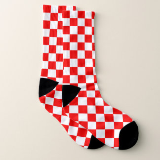 Red Checkered 1