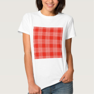 Red Checks Design Tees